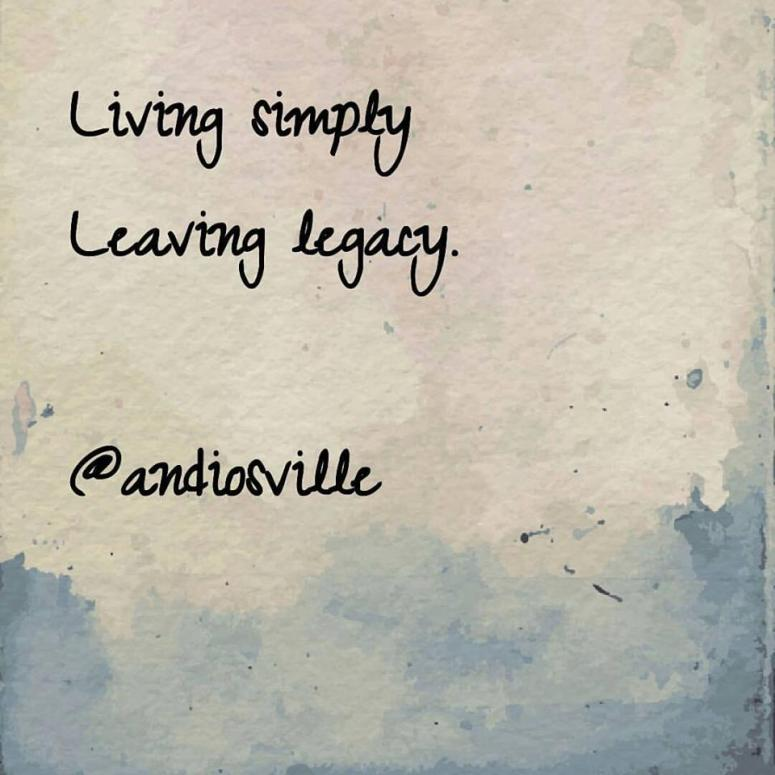 living-simply